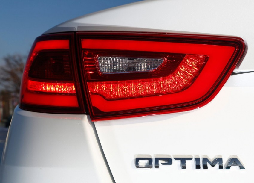 Kia Optima facelift – sole 1.7L U2 diesel choice for UK Image #239653