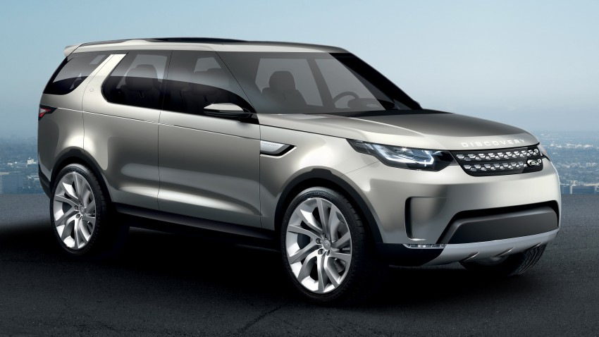 Land Rover Discovery Vision previews new family Image #241138