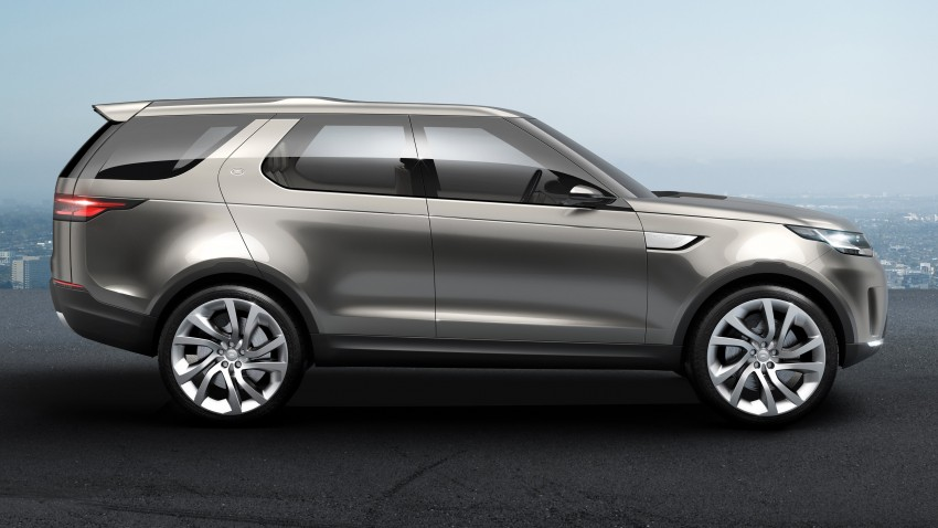 Land Rover Discovery Vision previews new family Image #241141