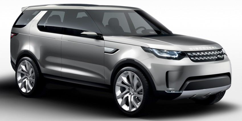 Land Rover Discovery Vision previews new family Image #241137