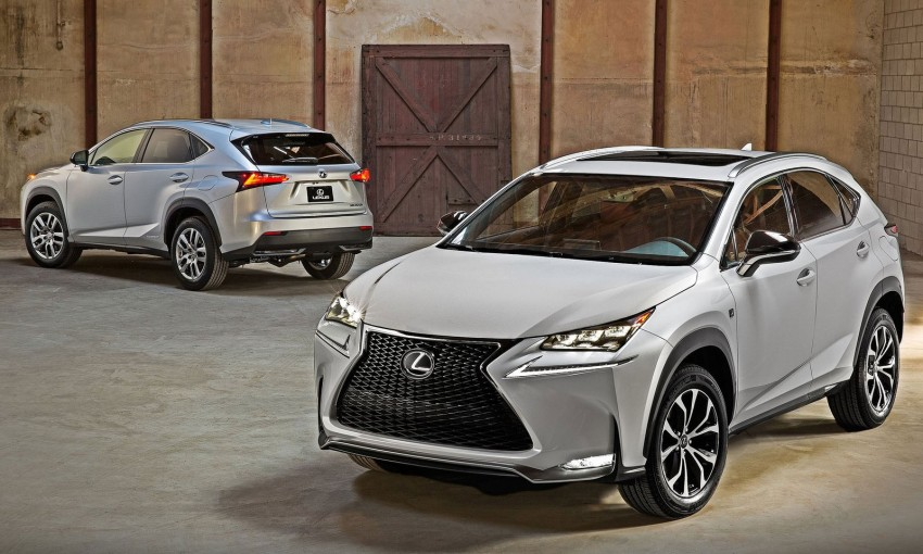 Lexus NX – first photos released ahead of Beijing Image #240541