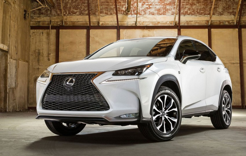Lexus NX – first photos released ahead of Beijing Image #240544