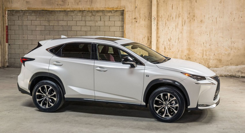 Lexus NX – first photos released ahead of Beijing Image #240547