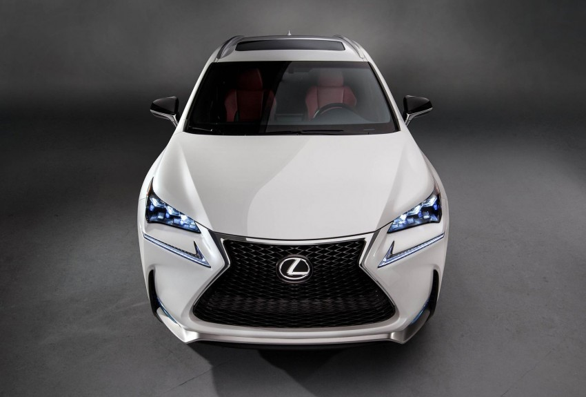 Lexus NX – first photos released ahead of Beijing Image #240549