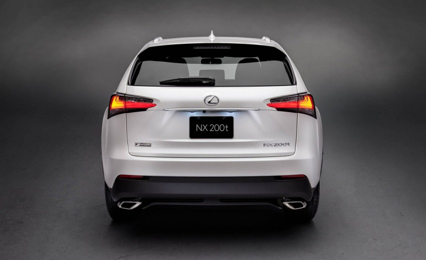 Lexus NX – first photos released ahead of Beijing Image #240550