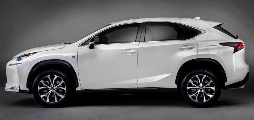Lexus NX – first photos released ahead of Beijing Image #240555