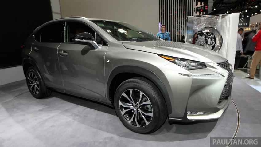 Lexus NX – full details revealed at Auto China 2014 Image #243270