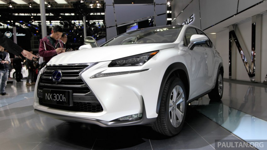 Lexus NX – full details revealed at Auto China 2014 Image #243272