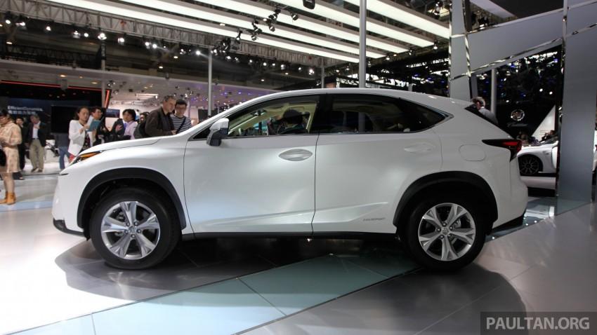 Lexus NX – full details revealed at Auto China 2014 Image #243273