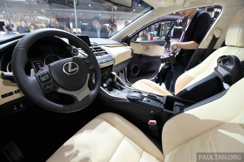 Lexus NX – full details revealed at Auto China 2014 Image #243274