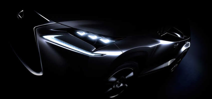 Lexus NX – full details revealed at Auto China 2014 Image #243195
