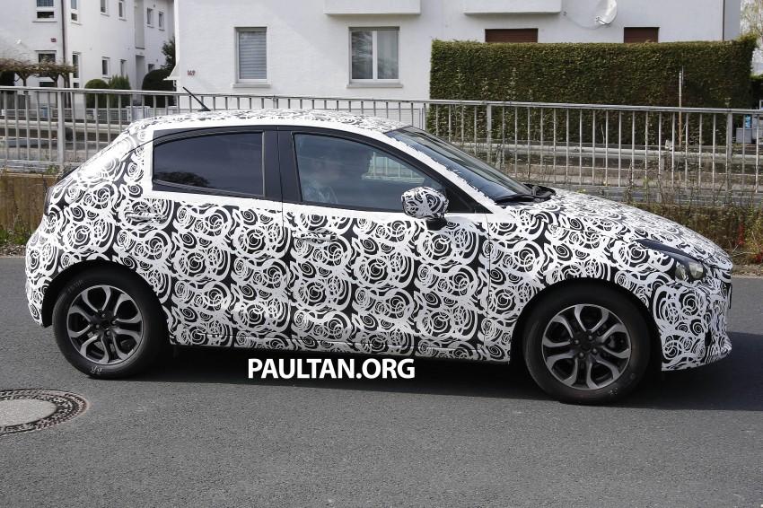 SPYSHOTS: Third-gen Mazda 2 spotted in Europe Image #239429