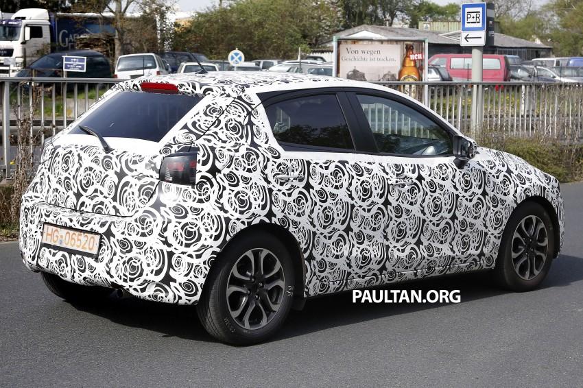 SPYSHOTS: Third-gen Mazda 2 spotted in Europe Image #239430