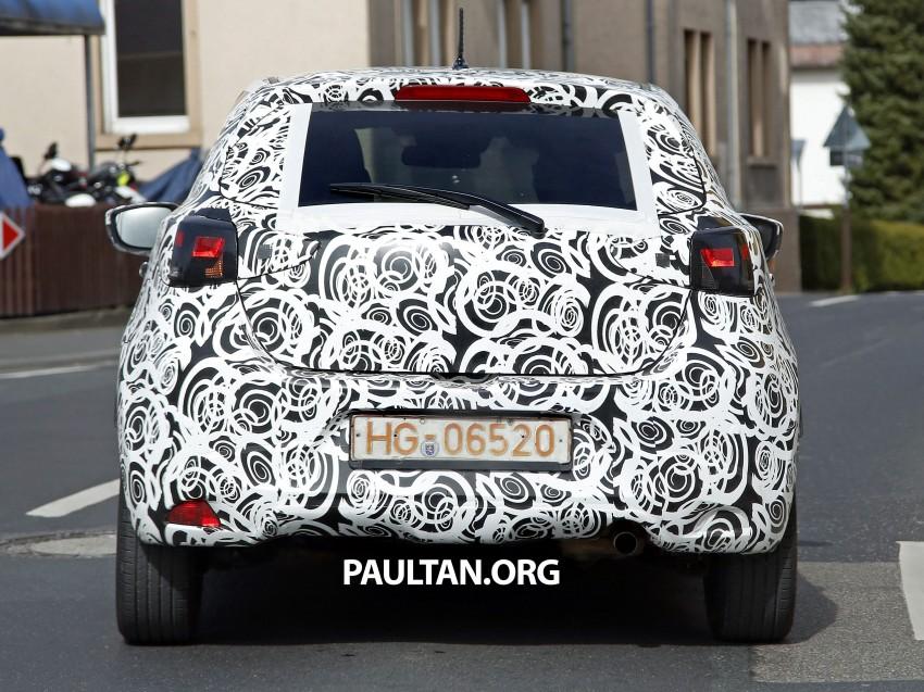 SPYSHOTS: Third-gen Mazda 2 spotted in Europe Image #239436