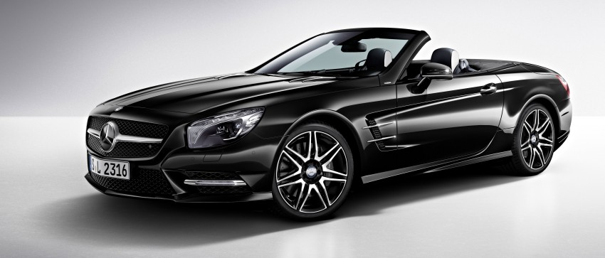 Mercedes-Benz SL 400 replaces SL 350 with turbo V6 Image #240039