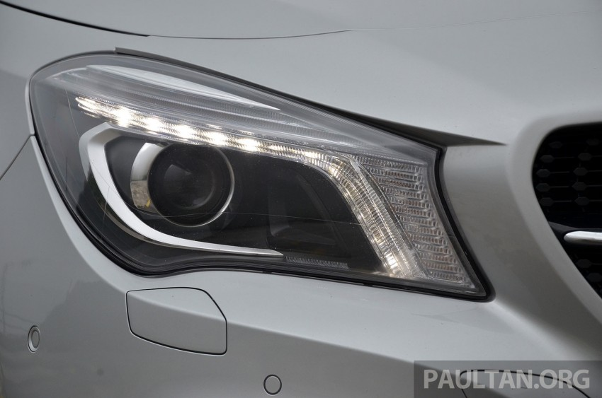 DRIVEN: Mercedes-Benz CLA 200 – of flash and flaws Image #244334