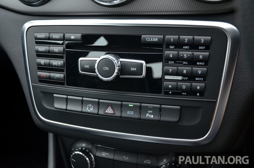 DRIVEN: Mercedes-Benz CLA 200 – of flash and flaws Image #244343