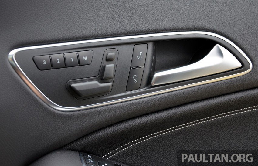 DRIVEN: Mercedes-Benz CLA 200 – of flash and flaws Image #244346