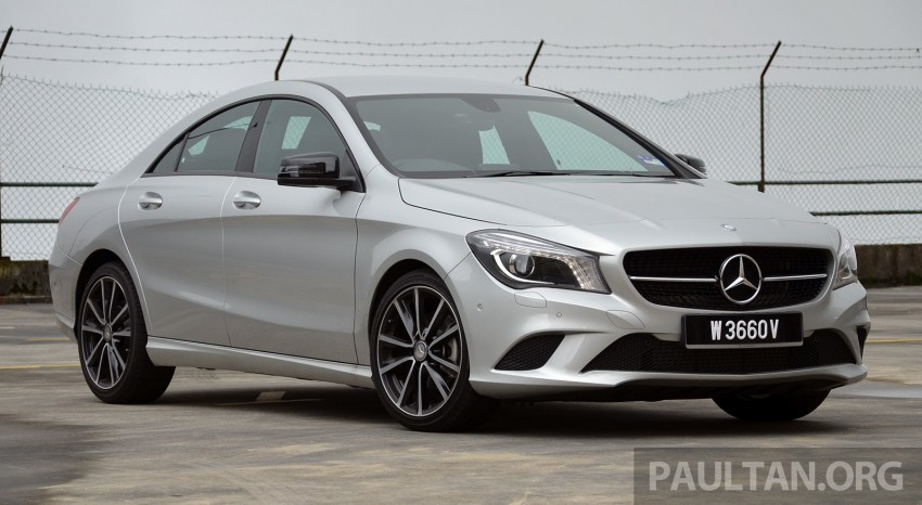 DRIVEN: Mercedes-Benz CLA 200 – of flash and flaws Image #244349