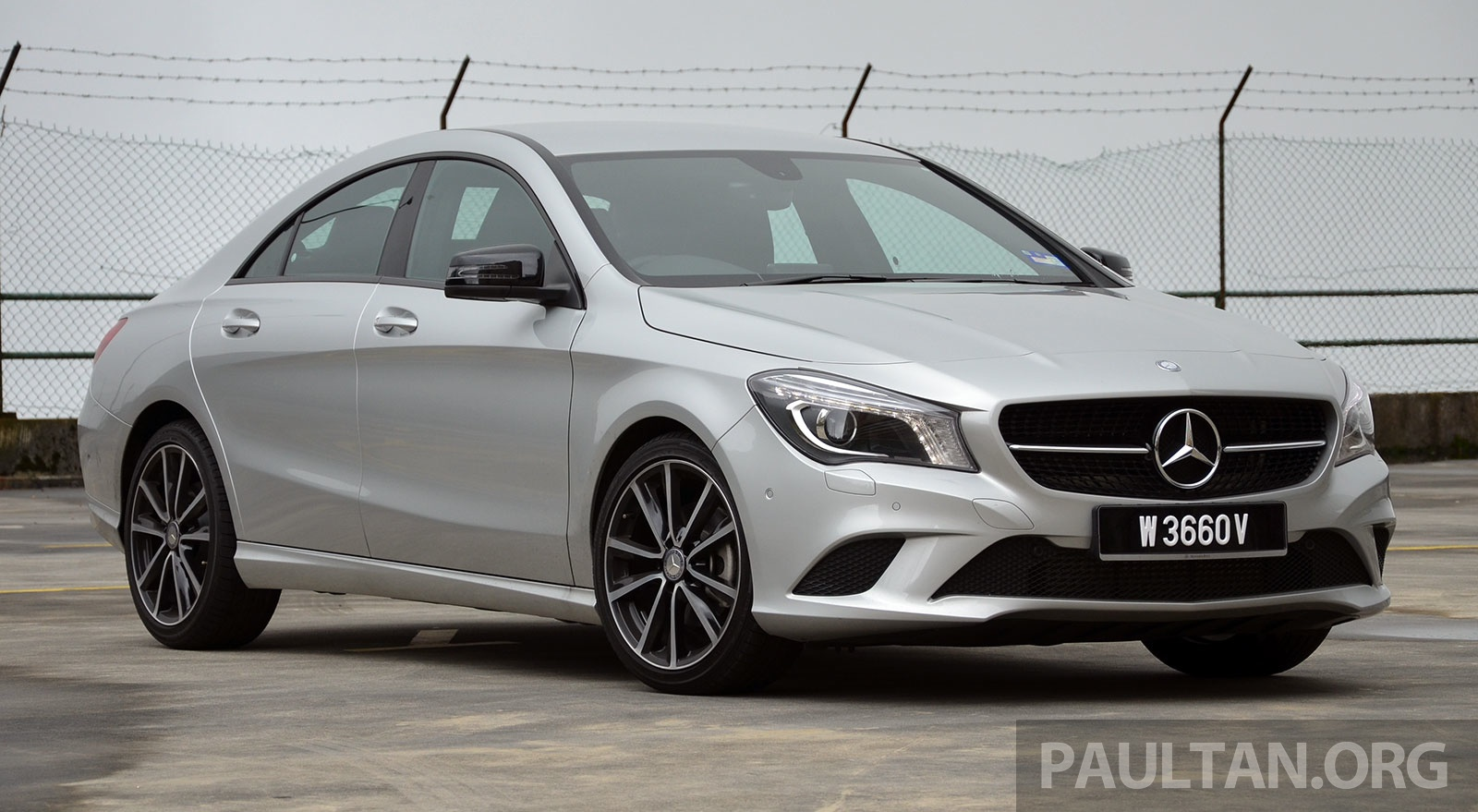 Driven Mercedes Benz Cla 200 Of Flash And Flaws Image