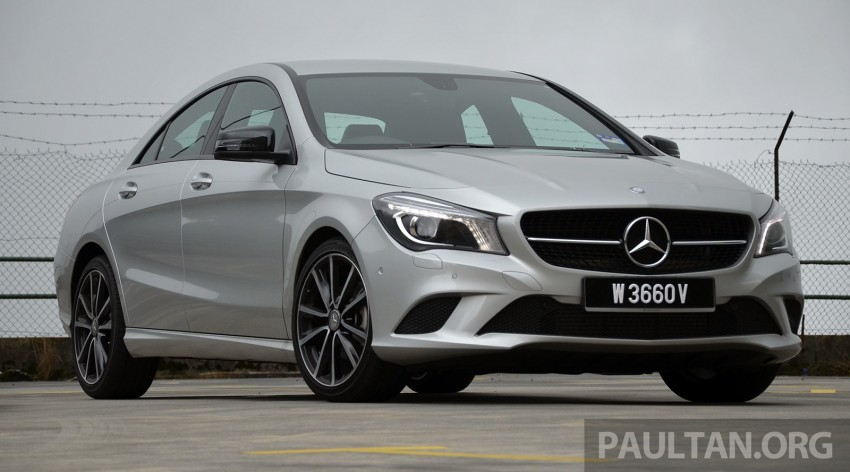 DRIVEN: Mercedes-Benz CLA 200 – of flash and flaws Image #244351