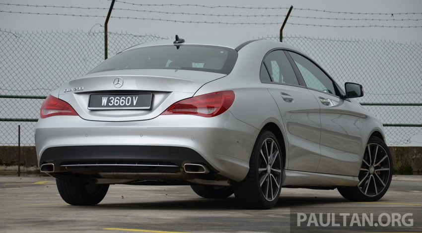DRIVEN: Mercedes-Benz CLA 200 – of flash and flaws Image #244353