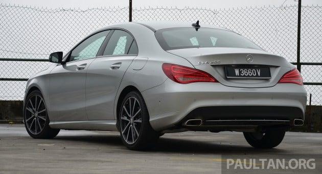 Mercedes CLA 200 Review- 22