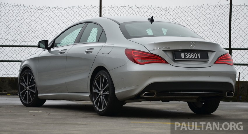 DRIVEN: Mercedes-Benz CLA 200 – of flash and flaws Image #244355