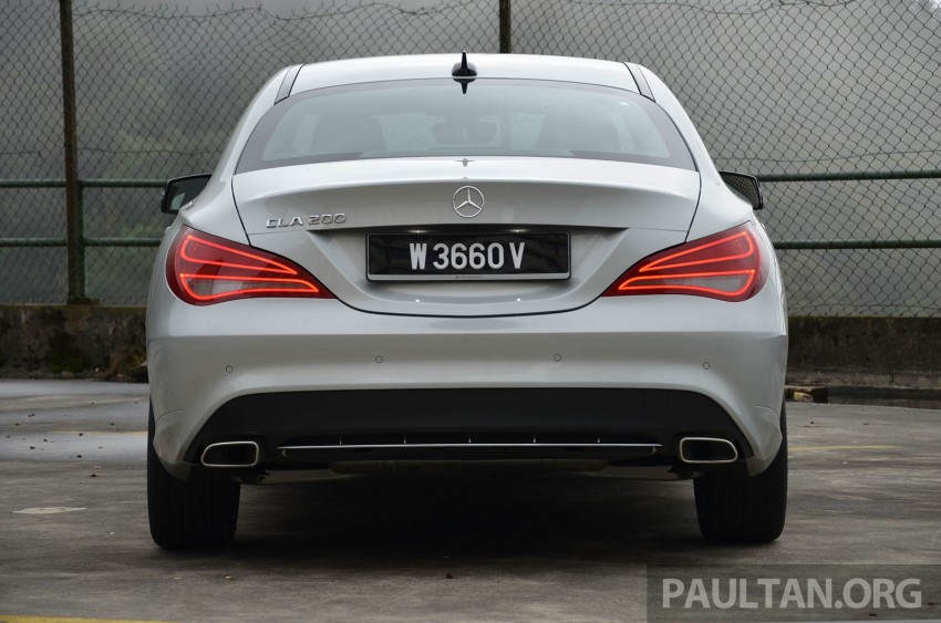 DRIVEN: Mercedes-Benz CLA 200 – of flash and flaws Image #244357