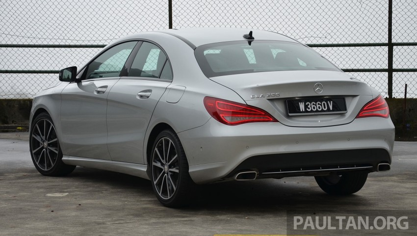 DRIVEN: Mercedes-Benz CLA 200 – of flash and flaws Image #244358