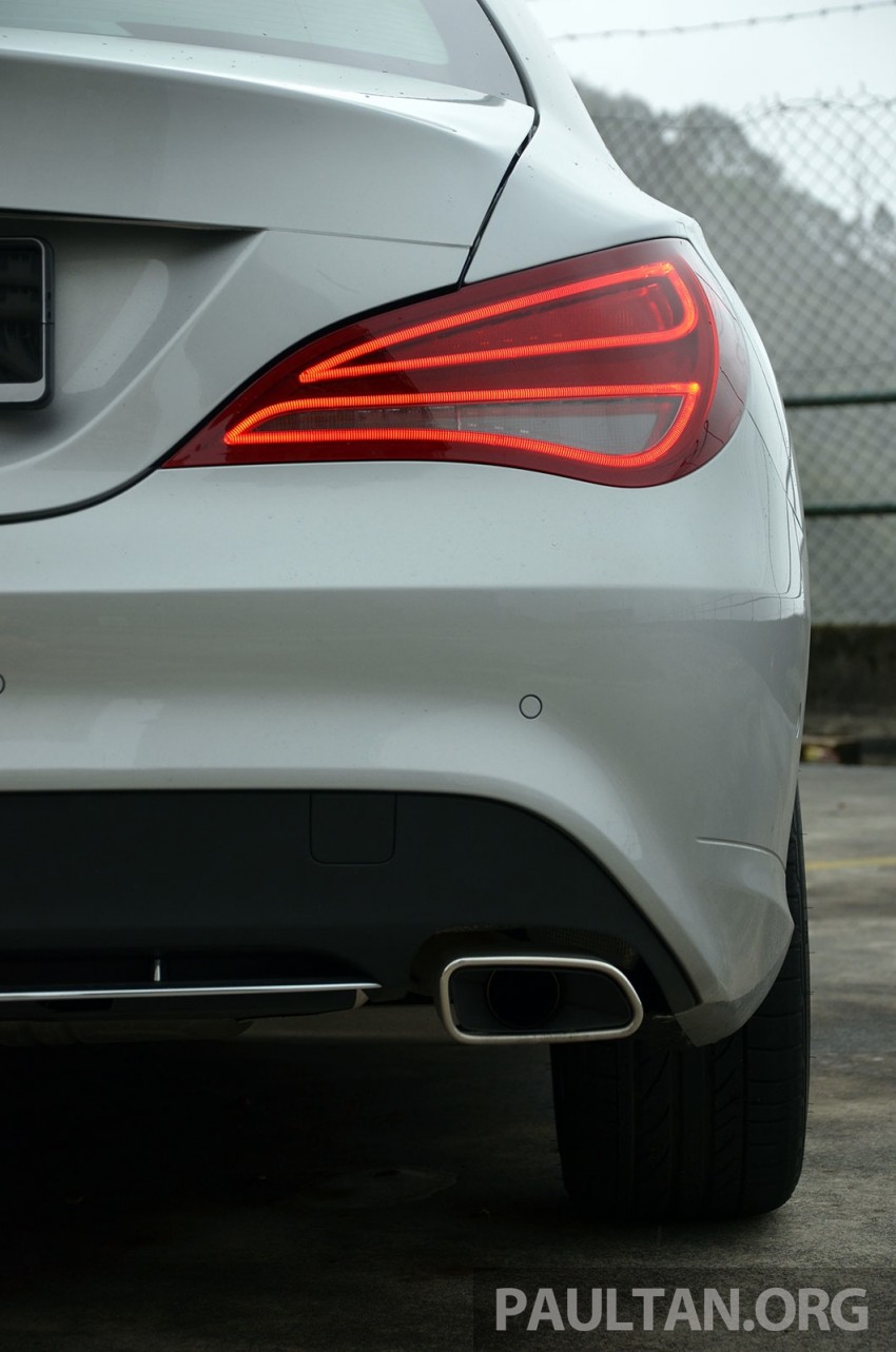 DRIVEN: Mercedes-Benz CLA 200 – of flash and flaws Image #244360