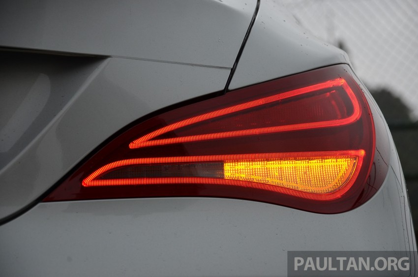 DRIVEN: Mercedes-Benz CLA 200 – of flash and flaws Image #244361