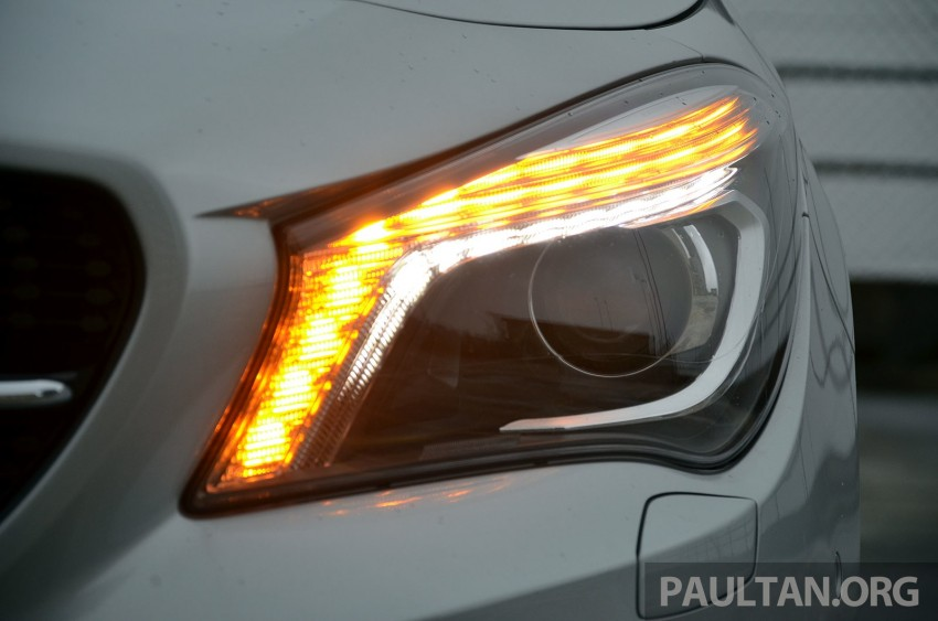 DRIVEN: Mercedes-Benz CLA 200 – of flash and flaws Image #244362
