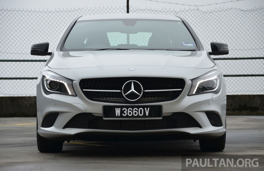 DRIVEN: Mercedes-Benz CLA 200 – of flash and flaws Image #244363