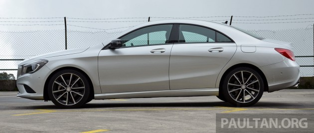 Mercedes CLA 200 Review- 34