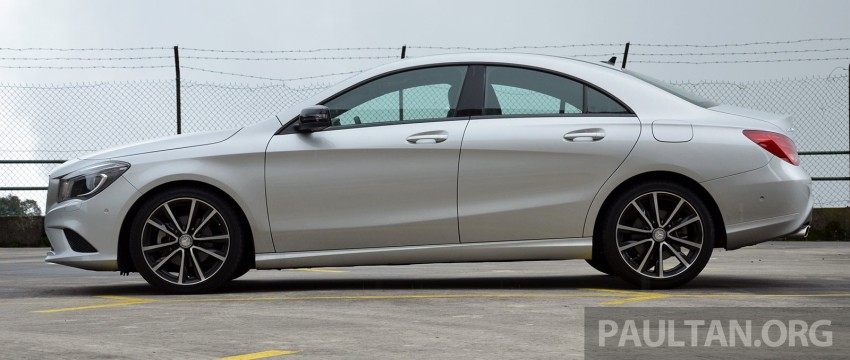 DRIVEN: Mercedes-Benz CLA 200 – of flash and flaws Image #244367