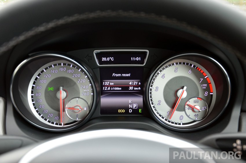 DRIVEN: Mercedes-Benz CLA 200 – of flash and flaws Image #244368