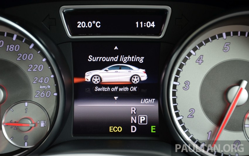DRIVEN: Mercedes-Benz CLA 200 – of flash and flaws Image #244371
