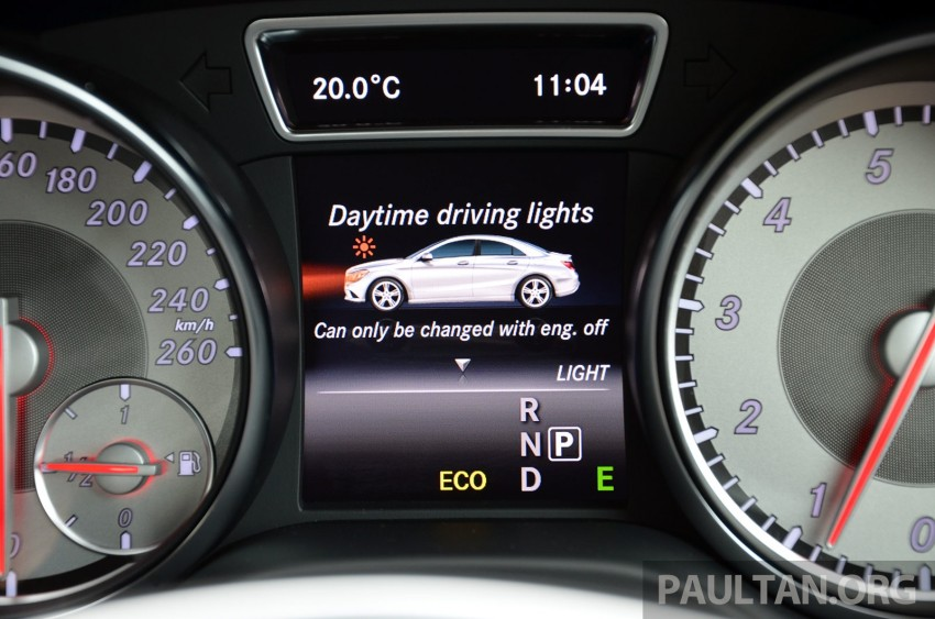 DRIVEN: Mercedes-Benz CLA 200 – of flash and flaws Image #244372