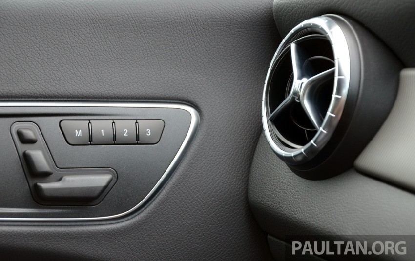 DRIVEN: Mercedes-Benz CLA 200 – of flash and flaws Image #244375