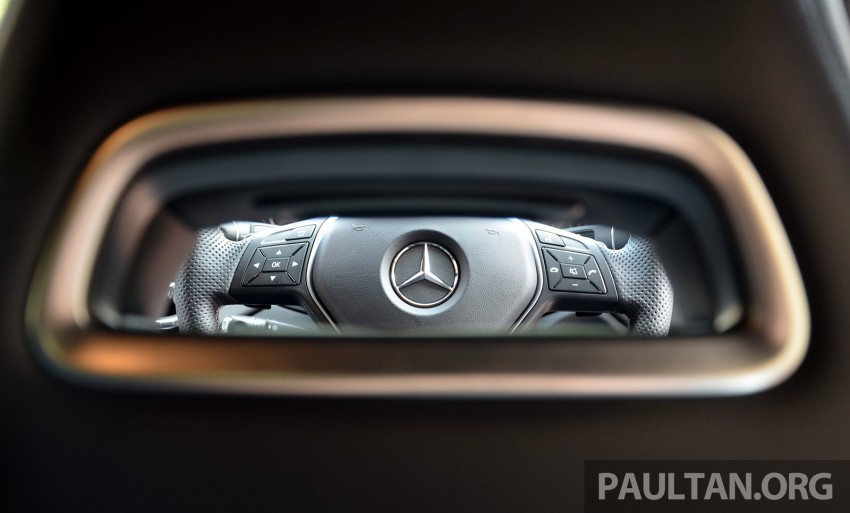 DRIVEN: Mercedes-Benz CLA 200 – of flash and flaws Image #244380