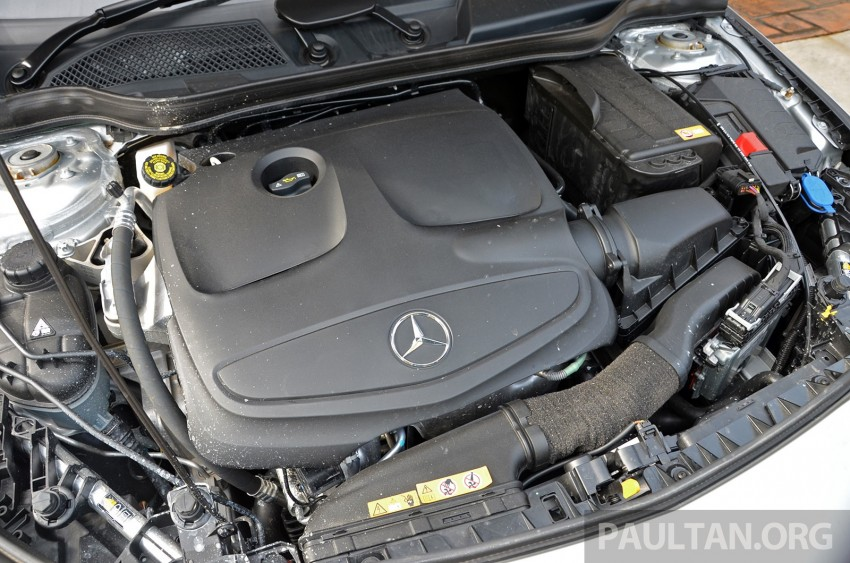 DRIVEN: Mercedes-Benz CLA 200 – of flash and flaws Image #244385