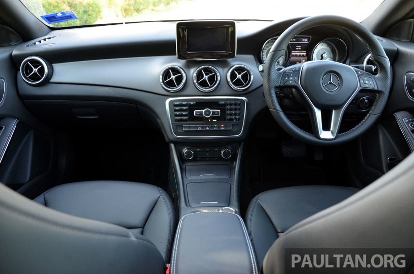 DRIVEN: Mercedes-Benz CLA 200 – of flash and flaws Image #244386