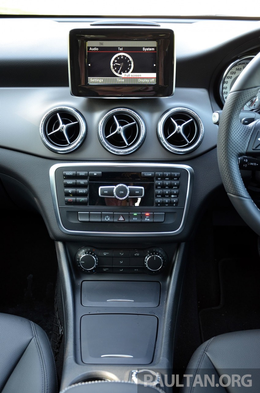 DRIVEN: Mercedes-Benz CLA 200 – of flash and flaws Image #244387