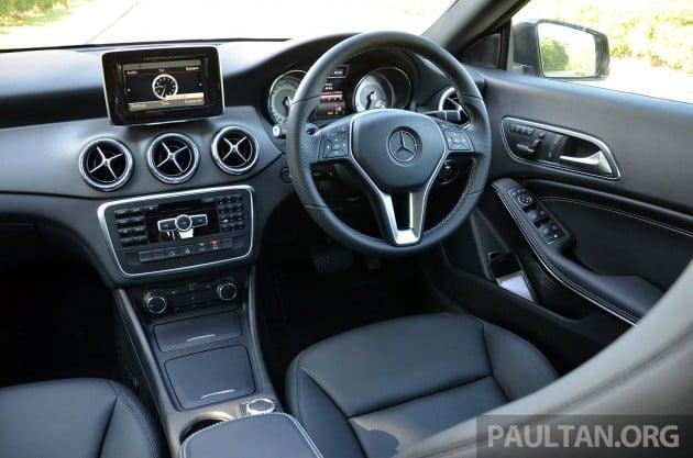 Mercedes CLA 200 Review- 55