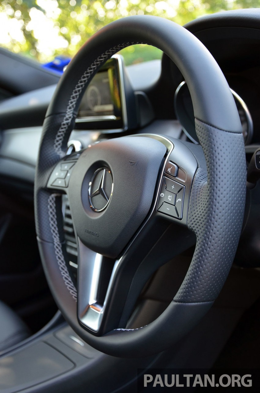 DRIVEN: Mercedes-Benz CLA 200 – of flash and flaws Image #244391