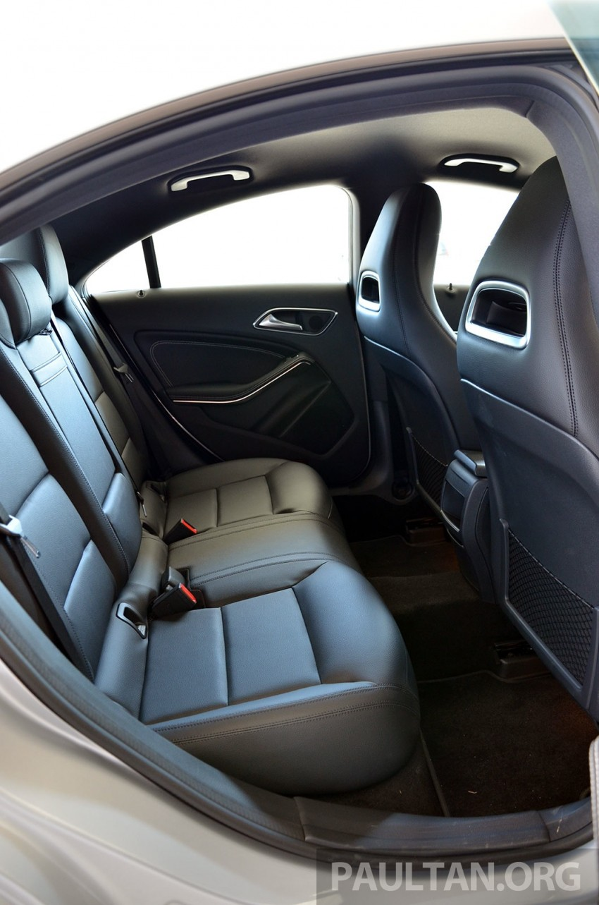 DRIVEN: Mercedes-Benz CLA 200 – of flash and flaws Image #244392