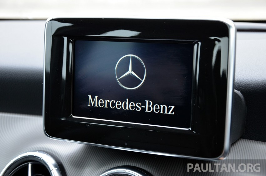 DRIVEN: Mercedes-Benz CLA 200 – of flash and flaws Image #244339