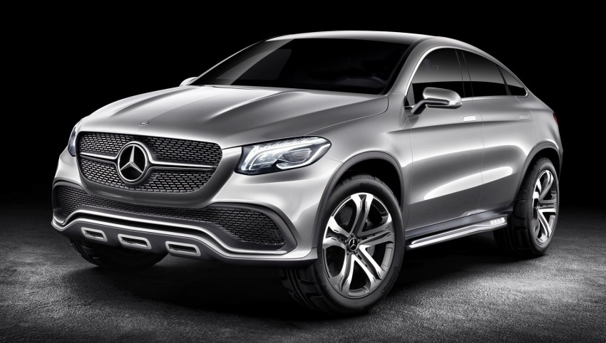 Mercedes Concept Coupe SUV to take on the BMW X6 Image #240174