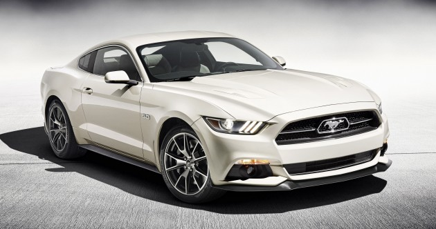 Mustang 50th Edition 01